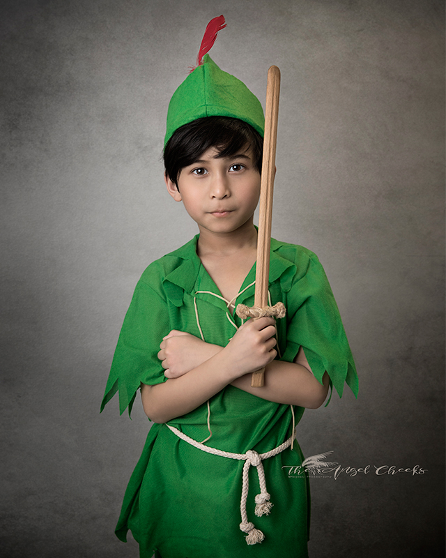 fine art child photographer High Wycombe portraits Peter Pan