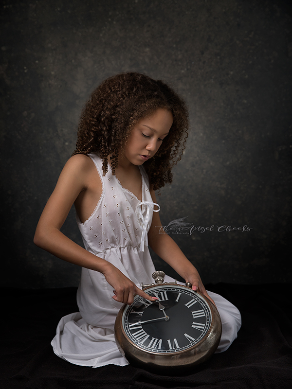 Fine Art portraiture  The Angel Cheeks photography
