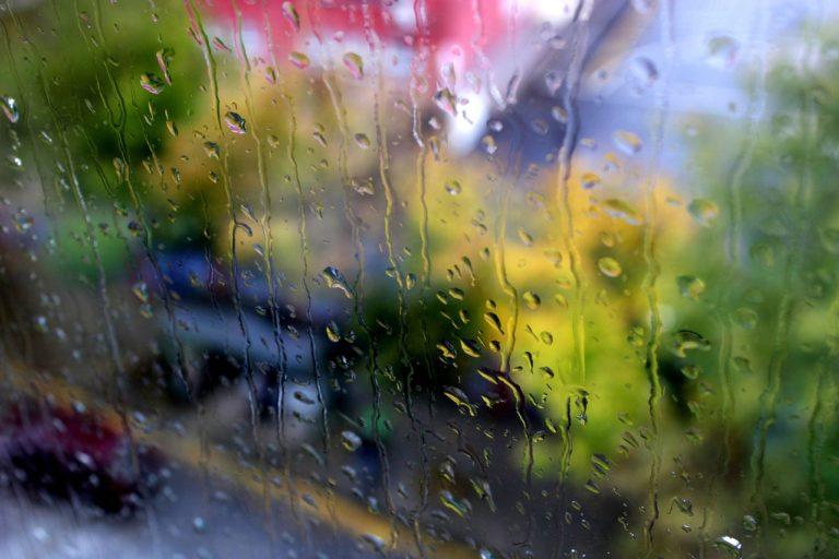 rain, drop, glass