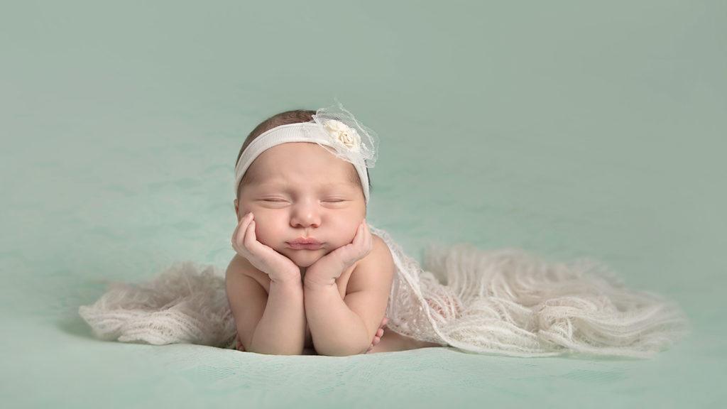 Newborn photo session experience