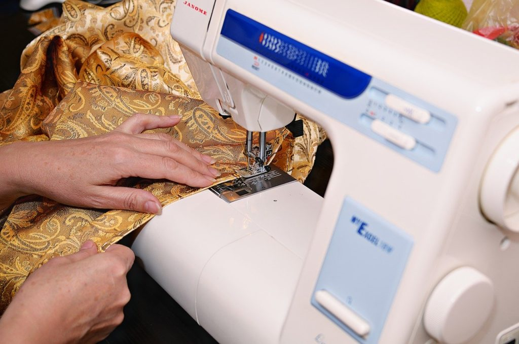 sewing-machine, machine, sewing