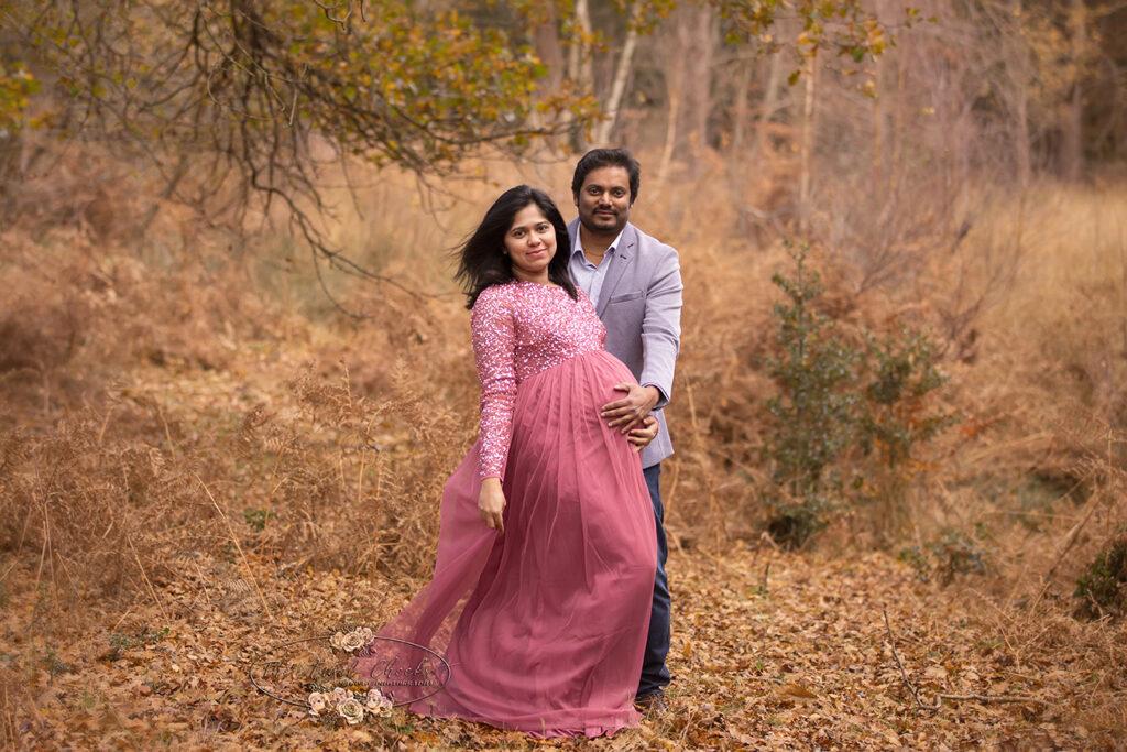 maternity autumnal photo shoot